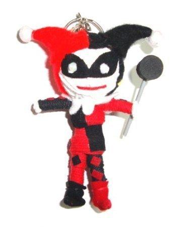 Harley Quinn in Batman Voodoo String Doll Keyring Keychain ...