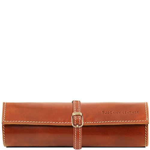 Tuscany Exclusive Leather Honey Tuscany Leather Leather Red case Jewellery rt1rwO