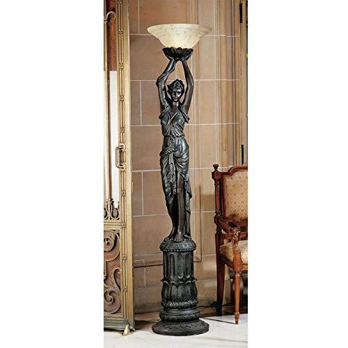 Design Toscano Place de L'Etoile Torchiere Lamp