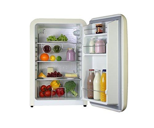 Retro Kühlschrank Creme : Vintage industries kompakt retro kühlschrank kingston