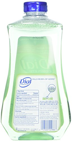 Dial Complete Antibacterial Foaming Hand Soap Refill, Fresh Pear, 32 Fluid Ounces (Pack of 3) by Dial (Image #5)