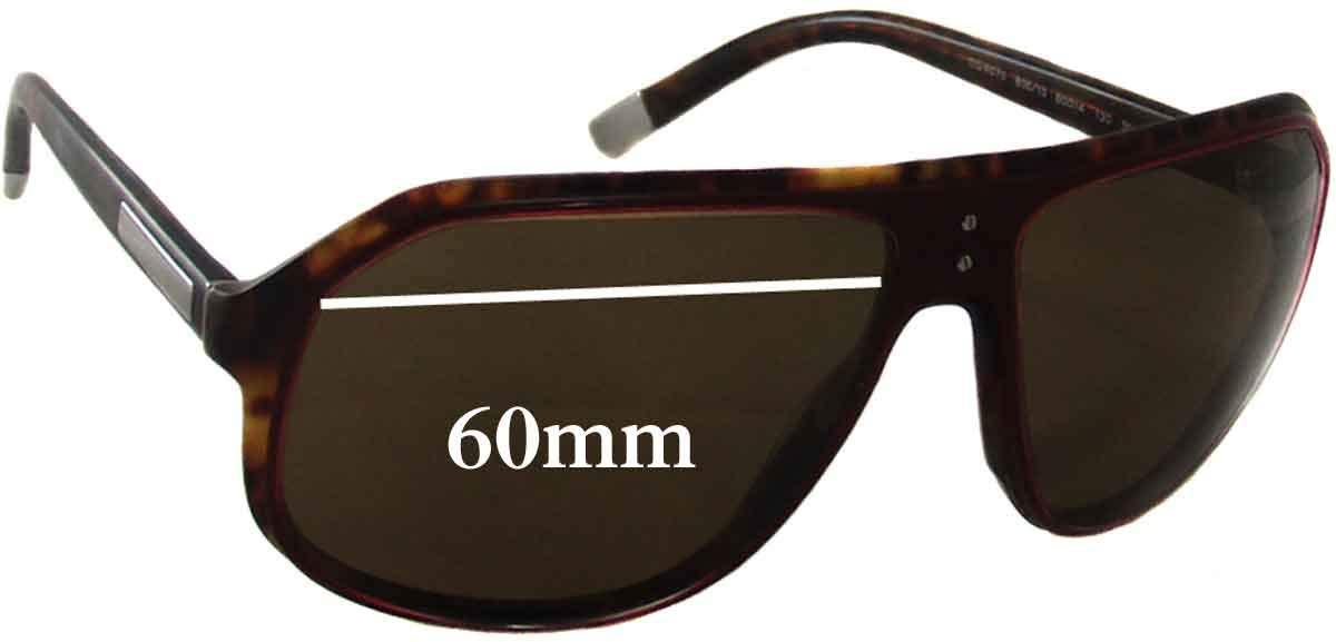 SFX Replacement Sunglass Lenses fits Dolce /& Gabbana DG4070 60mm Wide
