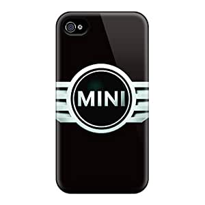 Scratch Protection Hard Phone Cases For Iphone 6plus (Kri18302bovZ) Custom Beautiful Mini Cooper Pattern