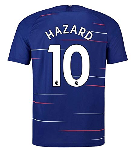 Chelsea Home Shirt - terfgrt Chelsea Hazard # 10 Soccer Jersey 2018-2019 Home Mens Jersey Blue(S-XXL) (XXL)