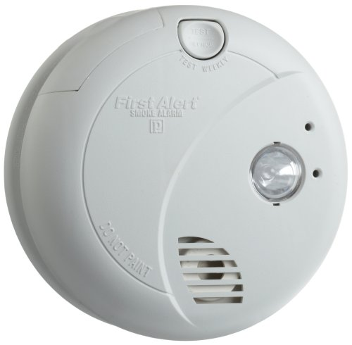 BRK-Brands-7020B-Hardwire-Photoelectric-Sensor-Smoke-Alarm-with-Battery-Backup-and-Escape-Light