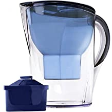 The Alkaline Water Pitcher - 3.5 Liters, Free Filter Included, 7 Stage Filteration System To Purify and Increase PH Levels