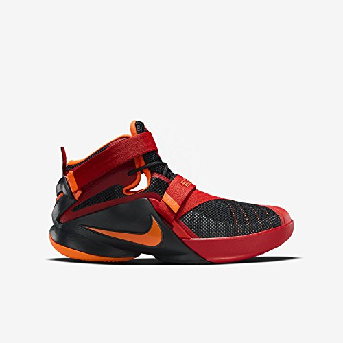 Nike Kid's Lebron Soldier IX GS, Chilling Red / Metallic ...