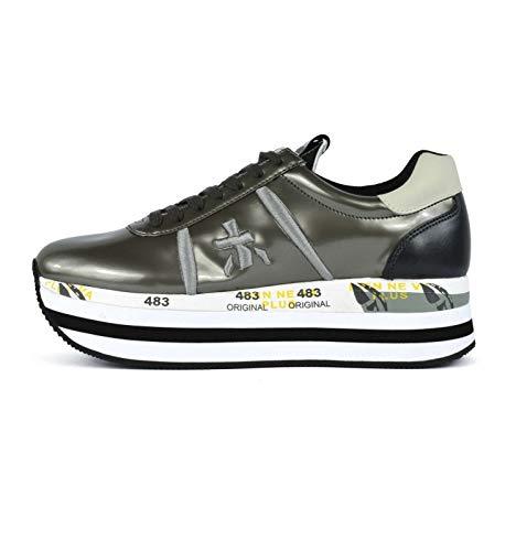 Donna Grigio 35 Premiata Beth Sneakers 3466 08BOq