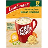 Continental Cup A Soup Roast Chicken 2 serves each, 7 x 75g