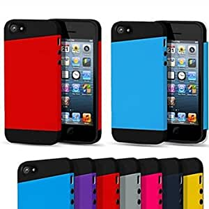 HC-TPU Inner Caso 2-in-1 PC para el iPhone 5/5S (colores surtidos)