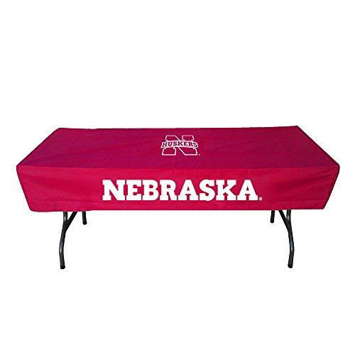 Rivalry Sports College Team Logo Nebraska 6 Foot Table Cover