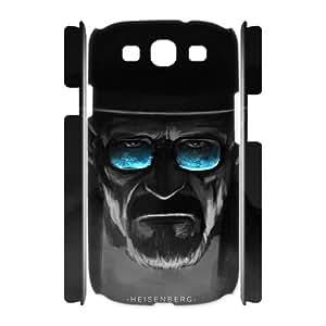 Custom 3D Phone Case YU-TH92858 for Samsung Galaxy S3 I9300 w/ Heisenberg by Yu-TiHu(R)