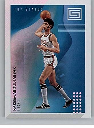 sports shoes 07c01 c8822 Amazon.com: 2018-19 Status Top Status Basketball #5 Kareem ...