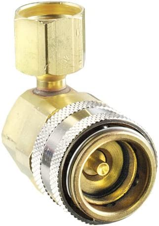 FJC 6018 R134a Coupler to R12 Hose Adapter 14mm x 1.5 x 1//4 Male Flare