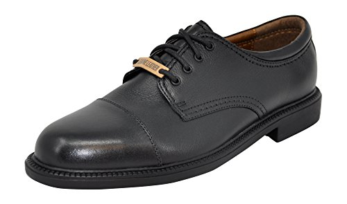 - Dockers Men's Gordon Cap-Toe Oxford (11 2E US, Black Tumbled)