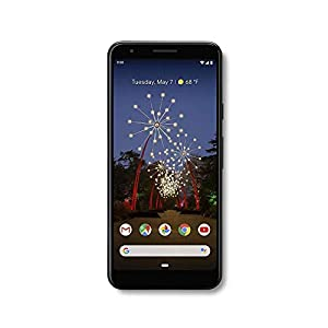 Google Pixel 3a G202G with 64GB Memory Cell Phone (Unlocked) – Just Blak (Renewed)