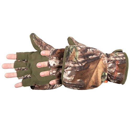 Manzella Womens Bowhunter Convertible Glove Realtree Xtra Camo Medium