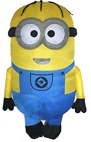 Kooy Blue Overalls Inflatable Costume Cosplay Halloween]()
