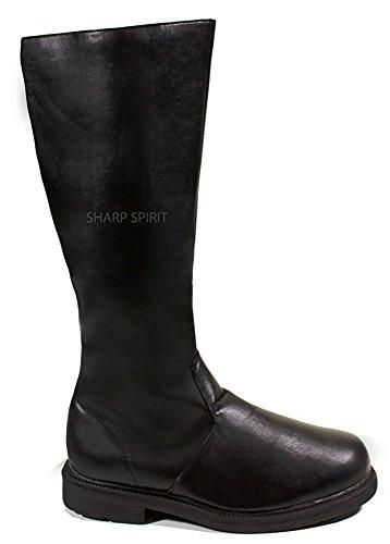 Star Trek Cosplay Halloween Star Wars Sith Lord Steampunk Super Hero Western Men's Boots
