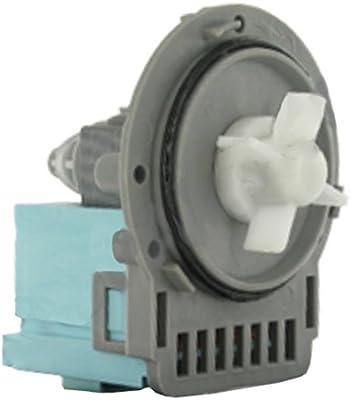 Spares2go - Bomba de desagüe para lavadora Samsung, se puede lavar ...