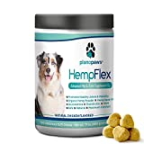 HempFlex - Glucosamine Chondroitin for Dogs - Hemp Oil for Dogs - Safe
