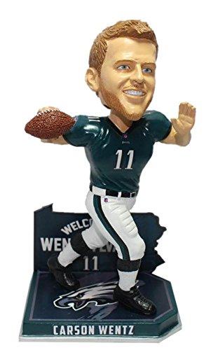 Forever Collectibles Carson Wentz Philadelphia Eagles Wentzylvania Bobblehead