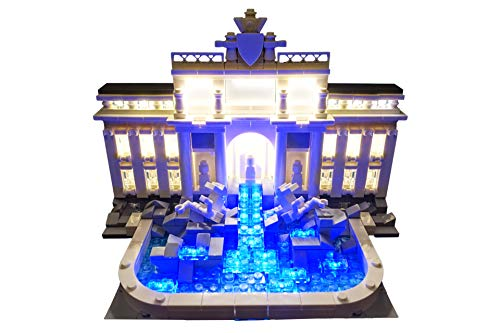 Brick Loot Trevi Fountain Lighting Kit for Set 21020 Set