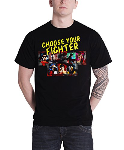 Mortal Kombat T Shirt Choose Your Fighter new Official Mens Black (Women Of Mortal Kombat)