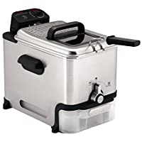 T-fal FR8000 Oil Filtration Ultimate 3.5-Liter Fry Basket Stainless Steel Immersion Deep Fryer