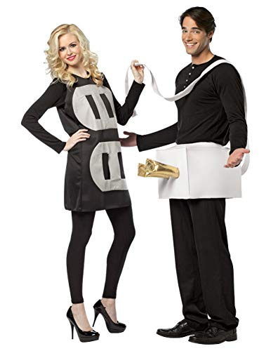 Shocking Electric Plug & Socket Couples Halloween Party Costume Set One Size]()