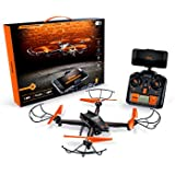 Airhawk M-13 Predator Drone With HD Wi-Fi Streaming, Orange