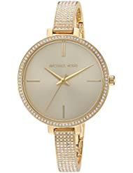 Michael Kors Women's 'Jaryn Quartz Stainless Steel Casual Watch, Color:Gold-Toned (Model: MK3784)