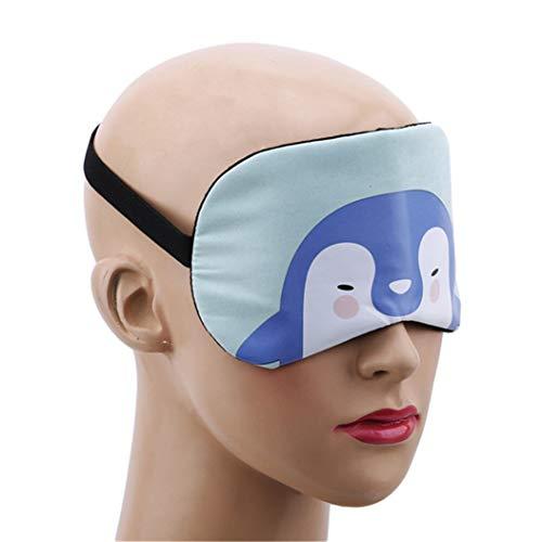 LZIYAN Cartoon Sleep Eye Mask Cute Animal Pattern Eye Mask Blindfold Eye Patch Sleeping Eyeshade Travel Shade Cover,Penguin by LZIYAN (Image #4)