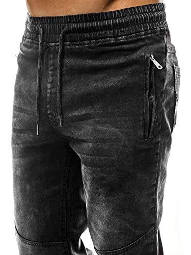 Libero Ozonee Baggy 638s Nero Fitness 631s 777 Sport Uomo Jeans Tempo Jogging Ozonee 777 Jogger Pantaloni ffnrwSzqR