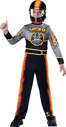 UHC Boy's Monster Jam Max D Cars Race Outfit Funny Theme Child Halloween Costume, Child S - Race Boy Baby Car Theme