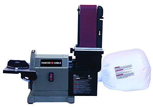 Porter-Cable PCB420SA Belt with 8'' Disc Bench Sander, 4'' x 36'' by PORTER-CABLE (Image #1)