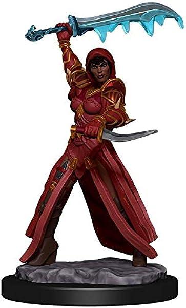 D/&D Icons of the Realms Premium Figures Halfling Female Rogue WizKids WZK 93019