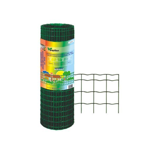 Netzwerk metalliza verzinkt PVC-beschichtet Typ Reserve L MT. 25Höhe MT. 1