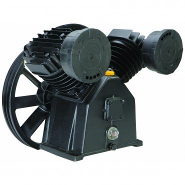 145 PSI 5 HP Twin Cylinder Air Compressor Pump with Spash Lubrication and Oil Slight Glass