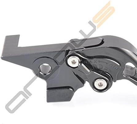 Arlows CNC Hebel MT-07 Short Bremshebel Kupplungshebel Yamaha MT07 2014-2015 RM04