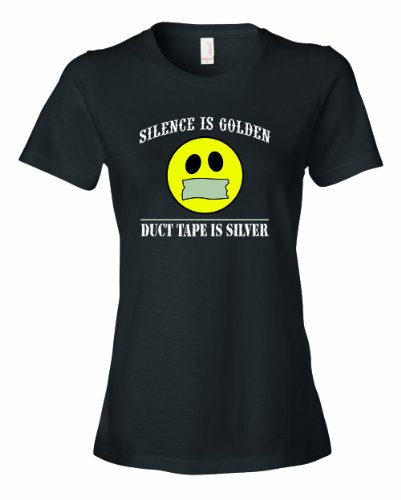 ladies-silence-is-golden-duct-tape-is-silver-t-shirt