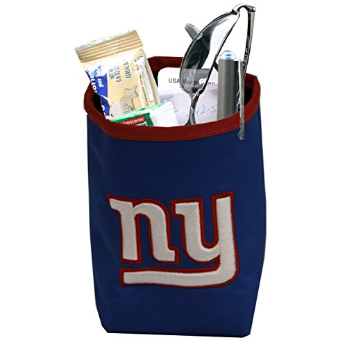 NFL New York Giants Logo Car Pocket Organizer - Hangs from Car Vent