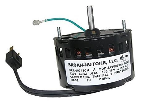 NuTone S86323000 Bathroom Fan Motor By Nutone