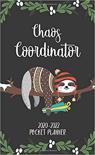 2020-2022 Christmas Trends Amazon.com: Chaos Coordinator 2020 2022 Pocket Planner: 3 Year
