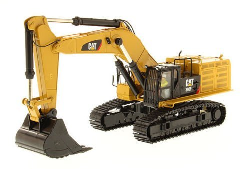 Diecast Masters CAT Caterpillar 390F LME Hydraulic Tracked Excavator with Operator High Line Series 1/50 Diecast Model (Excavator Model Diecast)