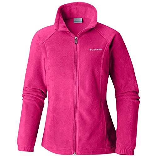 ton Springs Classic Fit Full Zip Soft Fleece Jacket, Cactus Pink, Large ()