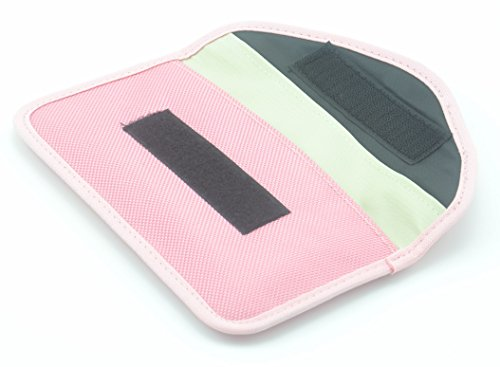 Ska Direct 100% Anti-tracking Anti-spying GPS Rfid Signal Blocker Pouch Case Bag Handset Function Bag for Cell Phone Privacy Protection and Car Key FOB (Pink)