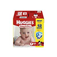 Huggies Snug and Dry Diapers - Size 2 - 84 ct