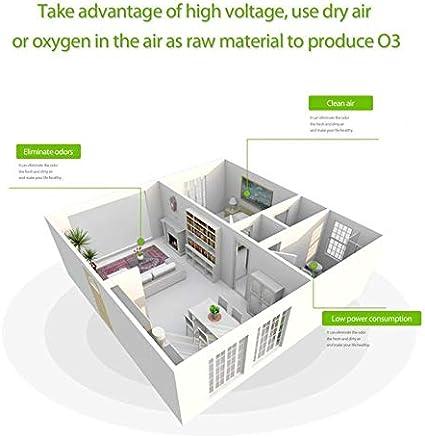 CamKpell 220V 7g / h Mini generador de ozono Fuente de ...