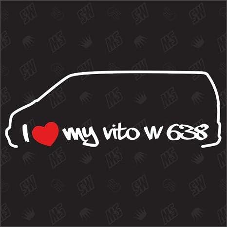 speedwerk-motorwear I Love My Mercedes Vito W638 ...